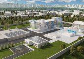 Entwurf der rPET-Anlage von Suez und Loop Industries. (Bildquelle: Suez)