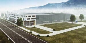 So wird die neue Firmenzentrale in Spittal-Ost aussehen. Bildquelle: Lindner Recyclingtech)