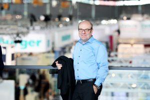 """Prof. Thomas Seul, Präsident des VDWF: """"Wir wollen Werkzeugbau live erfahrbar präsentieren: Mit der Road of Tooling Innovation lassen sich die Gesamtlösungen, die wir zukünftig im Werkzeugbau brauchen, überzeugend darstellen."""" (Bildquelle: Messe Stuttgart)"""