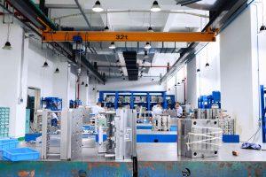 Blick in den Werkzeugbau von TSP. (Bildquelle: Kistler)