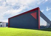 Das neue Gebäude ist eine Erweiterung für das Headquarter in San Polo di Piave, Italien. Es hat eine Fläche von 3.000 Quadratmetern. (Bildquelle: HRSflow)
