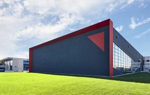 Das kürzlich erweiterte Headquarter von HRS flow in San Polo di Piave, Italien. Bild: HRS flow)
