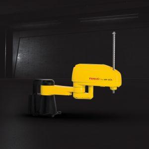 Roboter für sehr hohe Traglast und hohe zulässige Trägheitsmomente am Handgelenk. (Bildquelle: Fanuc)