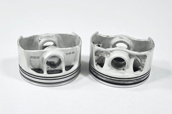 Porsche AG, Mahle International und Trumpf treten an mit ihrem: 3D printed piston 911 GT2 RS. (Bildquelle: Cirp)