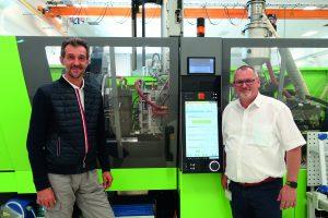 Partner seit mehr als 20 Jahren: Peter Lehmann von SEI WOO (links) und Leopold Praher von Engel. Bildquelle: Engel
