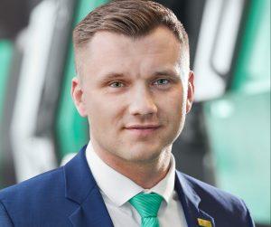 Lukas Pawelczyk, Abteilungsleiter Vertrieb Freeformer. (Bildquelle: Arburg)