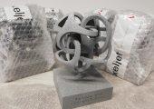 Der Preis selbst ist ein Beispiel für innovativen 3D-Druck. (Bildquelle: Mesago)