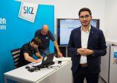 Das neue Studio für Online-Kurse ist Teil der Erweiterung der Aus- und Weiterbildung beim SKZ. (Bildquelle: SKZ)