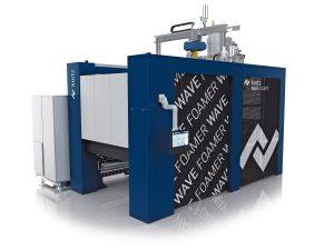 Chemiefreies Recycling und Energieeinsparung bis zu 90 Prozent: Kurtz Wave Foamer mit Radiofrequenz-Technologie. (Bildquelle: Kurtz Ersa)