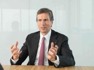 """""""Mit dieser Partnerschaft werden wir uns so deutlich wie noch nie in neue Geschäftsmodelle vorbewegen"""", sagt Mathias Kammüller, Gruppengeschäftsführer und Chief Digital Officer von Trumpf. (Bildquelle: Trumpf)"""