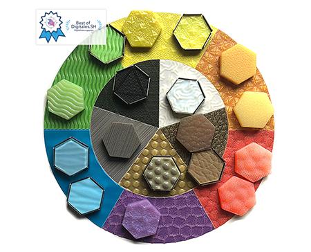"""""""Tactile Compass for colours"""" der Designer Sylvia Goldbach und Eric Bahr. (Bildquelle: Cirp)"""