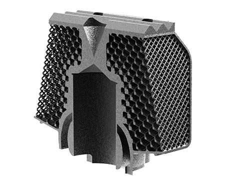 Thermisch optimierter Motor von nTopology. (Bildquelle: Cirp)