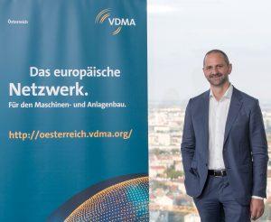 Dr. Christoph Steger, Engel Austria, ist der erste Vorstandsvorsitzende der VDMA Geschäftsstelle Österreich. Bildquelle: VDMA)