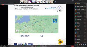 Moskau sei per Flugzeug näher als mancher Ort in Deutschland, der nur mit dem Auto zu erreichen sei, so Michael Klink, geschäftsführender Gesellschafter µ-Tec, Chemnitz. (Bildquelle: VDWF)
