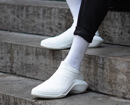 Mit 3D-Druck erstellte Schuhe von Svet Abjo. (Bildquelle: Cirp)