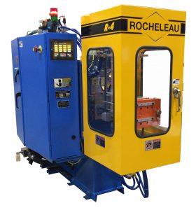 Blasformmaschine zum Herstellen von LDPE-Pipetten. (Bild: Rocheleau)