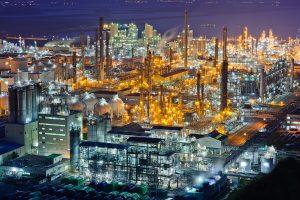 Panoramablick auf den petrochemischen Komplex von LG Chem in Yeosu, Südkorea. (Bildquelle: Neste)