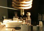 Versuchsaufbau für das Ultraschalltrennen. (Bildquelle: KUZ)