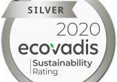Ecovadis Zerifikat in Silber für Rowa Masterbatch. (Bildquelle: Rowa)