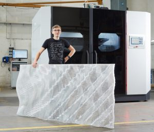 Das Produktdesign und die 3D-Druck-Anwendung wurden von 3F Studio entwickelt.