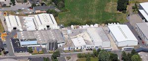 Der Standort von Ravago Manufacturing in Steinfurt. (Bildquelle: Ultrapolymers)