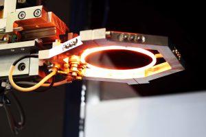 Der keramische Emitter wurde mit 3D-Druck hergestellt. (Bild: Polymerge)