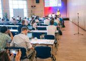 Blick in das Forum des Rapid.Tech 3D Fachkongresses 2019 (Bild: Messe Erfurt)