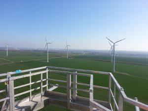 Das Reparieren von Windkraftanlagen wird künftig auch in den Wintermonaten möglich sein. (Bildquelle: SKZ)