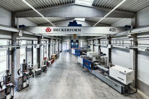 Der virtuelle Firmenrundgang führt auch durch das Technikum von Deckerform. (Bild: Deckerform)