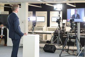 In diesem Jahr wurde die Preisverleihung an den Werkzeugbau des Jahres per Livestream übertragen. (Bild: Fraunhofer IPT)