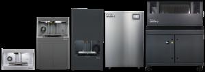 Das 3D-Drucker-Sortiment des Unternehmens. (Bild: Markforged)