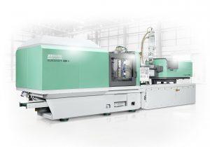 AMK-Produkte sorgen bei  allen elektrischen Spritzgießmaschinen des Loßburger Maschinenbauers für eine hohe und effiziente Leistungsfähigkeit. Bild: Arburg)