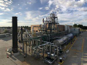 Alterras Anlage zum chemischen Recycling im industriellen Maßstab in Akron, Ohio, USA. (Bild: Alterra)