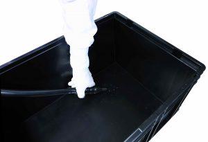 Die Partikelfracht in einem KLT lässt sich ebenfalls mit dem Saugextraktionssystem ermitteln. Bild: Clean Controlling)