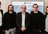 Der neue Beirat der Gindumac Gruppe v.l.n.r.: Alexander Eisler, Janek Andre, Dr. Hans Ulrich Golz, Dr. Dominik Benner  und Benedikt Ruf . (Bild: Gindumac)