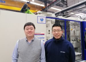 Der stellvertretende General Manager Valen Pan (links) und Projektmanager Li Lin tragen operative Verantwortung in Shenyang. (Bild: