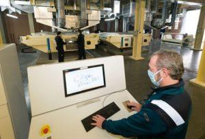 Die Radici Group 15 Mio. Euro in eine neue Anlage zur Herstellung von Meltblown-Vliesstoffen in Bergamo, Italien. (Bild: info@newsletter.radicigroup.com)