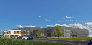 Das neue Produktionsgebäude am  Lifocolor Standort Lichtenfels ermöglicht der Gruppe neue Geschäftsentwicklungen. (Bild: Lifocolor)