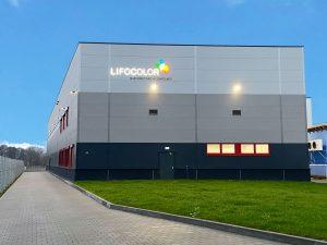 Der Neubau am deutschen Lifocolor Standort Straufhain ist abgeschlossen und in Betrieb. (Bild: Lifocolor)