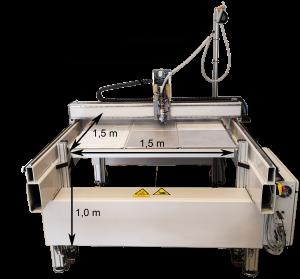 Abbildung 2: Selbst entwickelter LAAM-Drucker bei NMB.