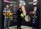 Das Qualitätsmanagement Team von Relyon Plasma (v.l.n.r.):  Andreas Ammon, Katharina Bayer und Geri Richter. (Bild: Relyon)