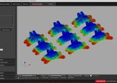 Analyse des Nachbearbeitungsbedarfs für den SLS-Batchdruck. (Bild: Extreme Engineering)