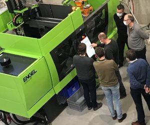 PlastIQ und Engel Benelux haben an den Standorten Kortrijk und Genk neue Trainingskapazitäten geschaffen. (Bild: Engel)
