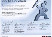 Die Sieger des Wettbewerbs Werkzeugbau des Jahres 2020 wurden ausgezeichnet. (Bild: Fischerwerke)
