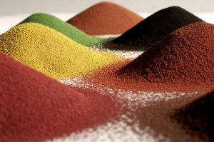 Eisenoxid- und Chromoxidpigmente werden teurer. (Bild: Lanxess)