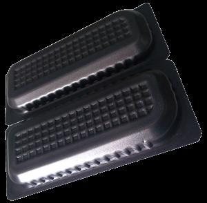 Die APET-Schaumfolie besteht zu 99 % aus PCR-Rezyklat. (Bild: Ricardo Alfaia/Buergofol)