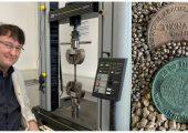 Tecnaro F&E-Leiter Dr. Michael Schweizer erforscht im EU Projekt Sweetwoods hochreine Pflanzenrohstoffe Lignin und Holzzucker für neue Biokunststoffgranulate.  (Bild: Tecnaro)