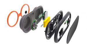 Das Gehäuse des Lautsprechers besteht aus EPP und wird mit einer Dichtmasse verklebt. Mit dem Echtzeit Audio Processing wird das Audiosignal aufbereitet, so dass das Gehäuse und die PVC-Membran schwingen und den Klang erzeugen. Bild: Zeppy