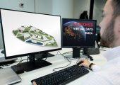 """Teilnehmer an den """"Virtual Days EMEA"""" können auf einem virtuellen Campus die Produktwelten des Unternehmens interaktiv erleben. (Bild: Lanxess)"""