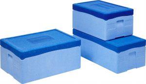 Eine solche Thermobox aus EPP von Overath brachte die Idee zur Wahl des geeigneten Zeppy-Gehäusematerials. Bild: Overath